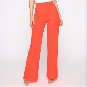 Victoria High waisted pants (fashion nova)